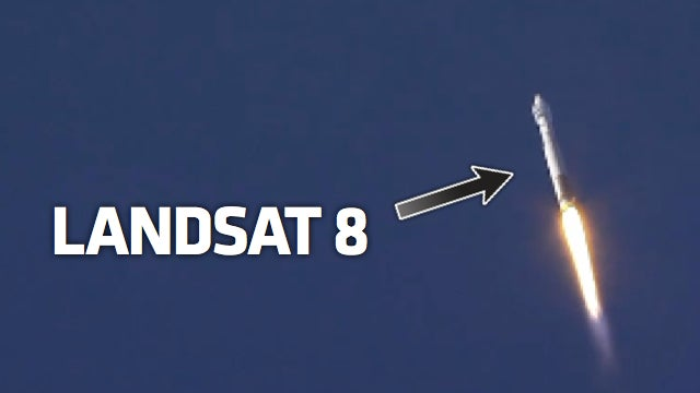 NASA Just Launched Landsat 8 Into Orbit