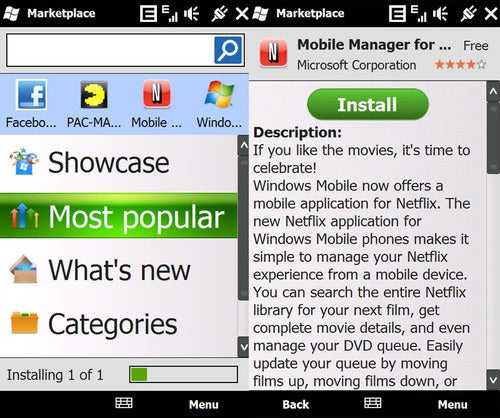 How To Install Windows Marketplace For Mobile On WinMo 6.1