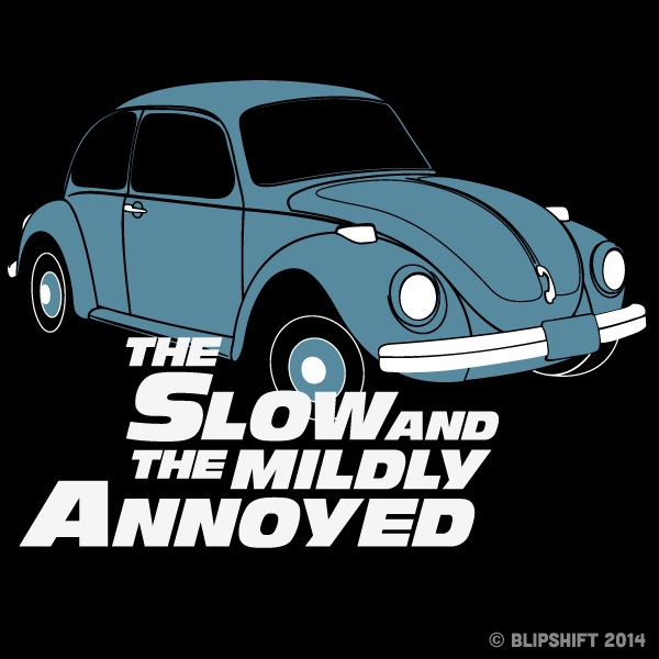 "New Blipshift Shirt -""The Slow"""