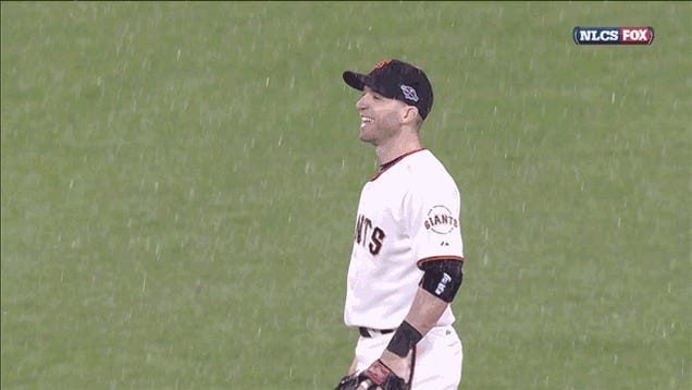 The Giants' Pennant Run Ended Right As Rain