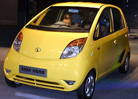Tata Nano Isn't a Music Player or Tits, Nay, It's a $2500 Car