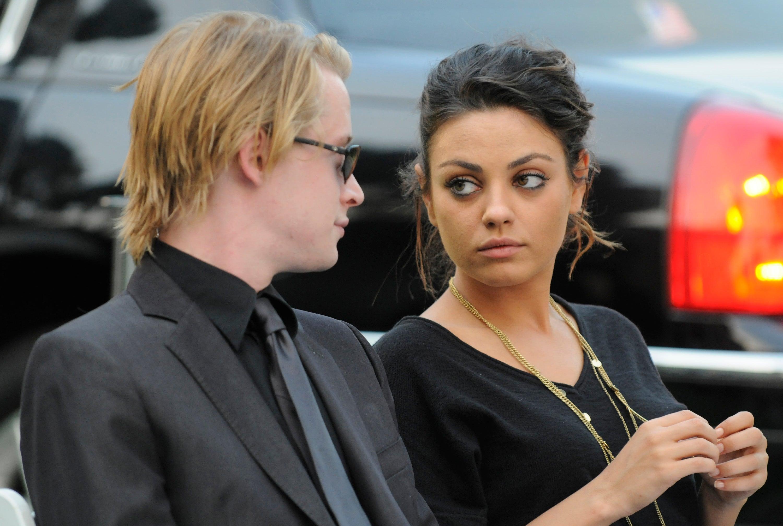Macaulay Culkin and Mila Kunis Break Up