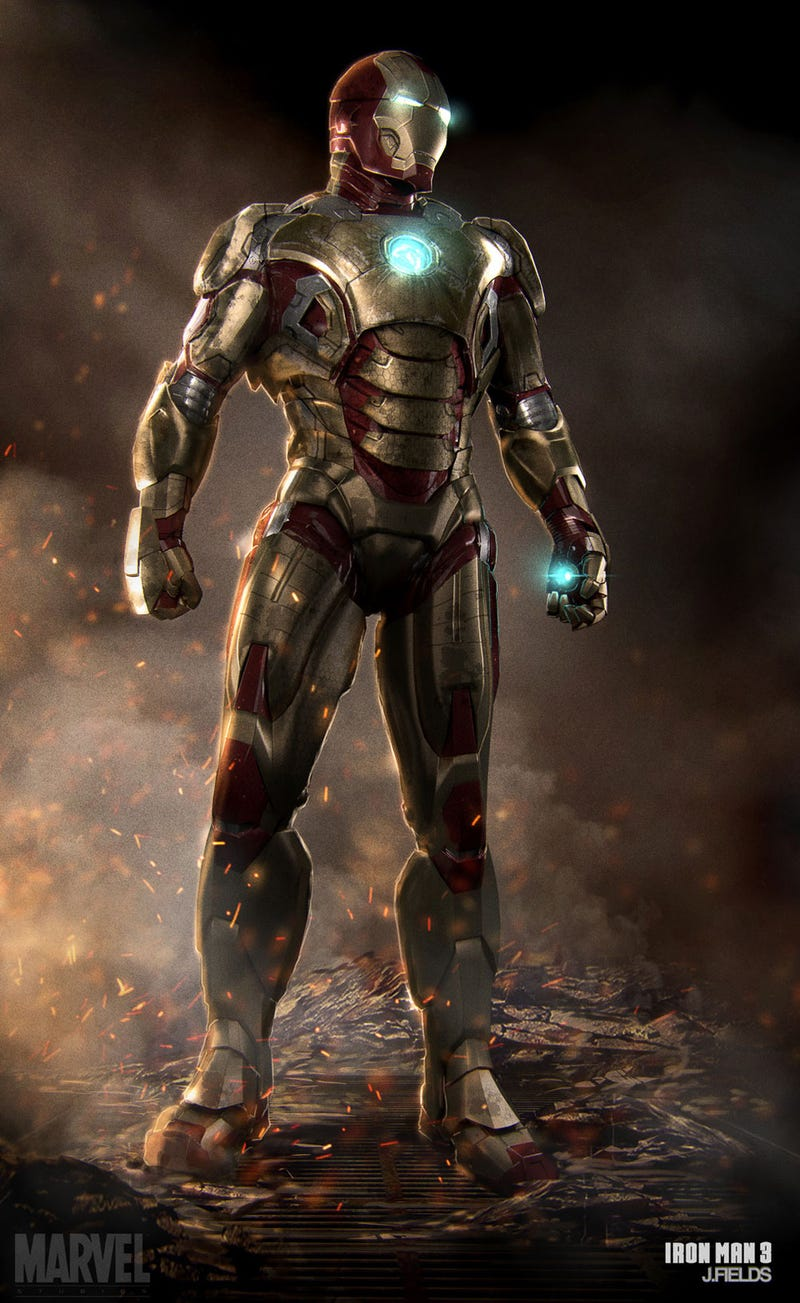 Iron Man? More Like Golden Man