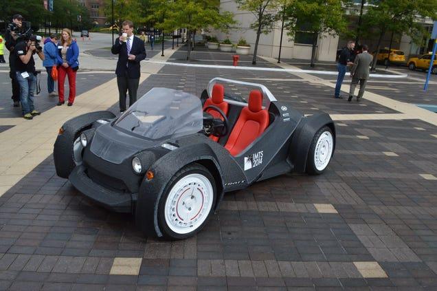 The Local Motors 3d Printed Car Is Uber Techy Cool