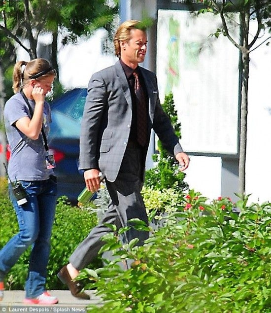 New Iron Man 3 Set Photos