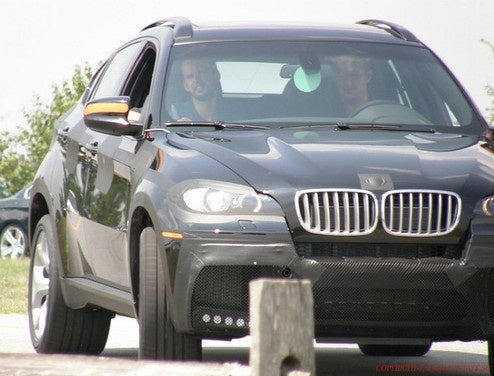 Possible BMW X5M, X6M Prototypes Spotted In Spartanburg