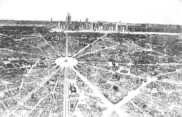 An autistic savant spent 20 years designing an entire city on paper