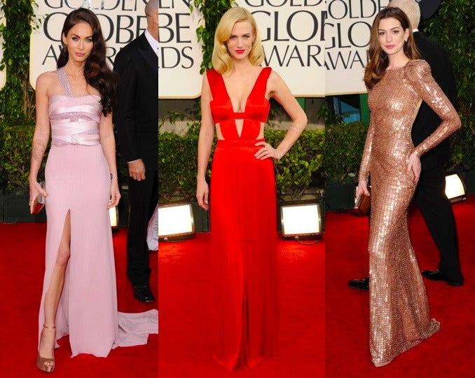 At Golden Globes, Stars Wear Endorsement Deals On Their Sleeves