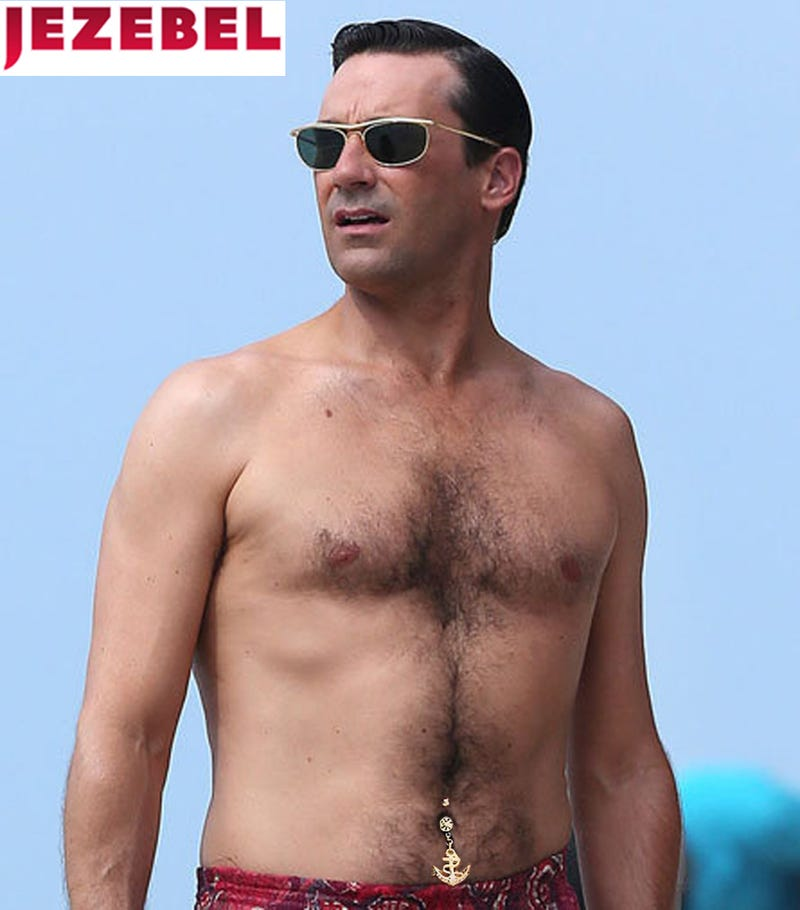Are Your Favorite Male Celebs Still Hot with Belly Button Rings?