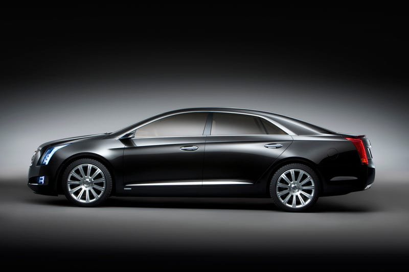 Cadillac XTS Platinum Concept: Press Photos