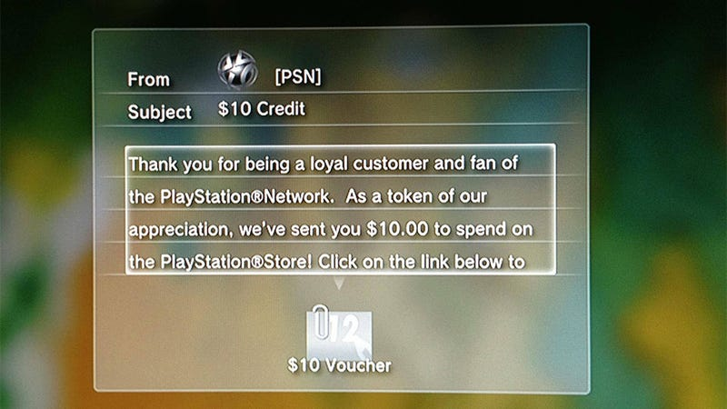 Here, Americans, Have $10 Free Credit On The PlayStation Store