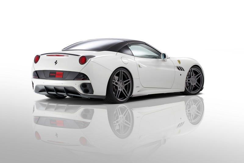 Novitec Rosso Ferrari California Gallery