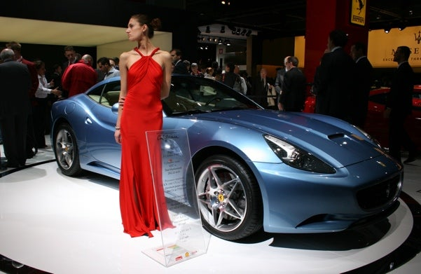 Ferrari California, Live, Naked And In High-Resolution