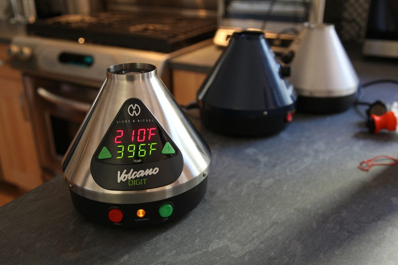 Taking the $670 Volcano Vaporizer for a Test Drive