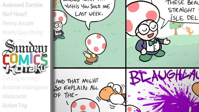 Sunday Comics: Don't Look a Yoshi in the Mouth
