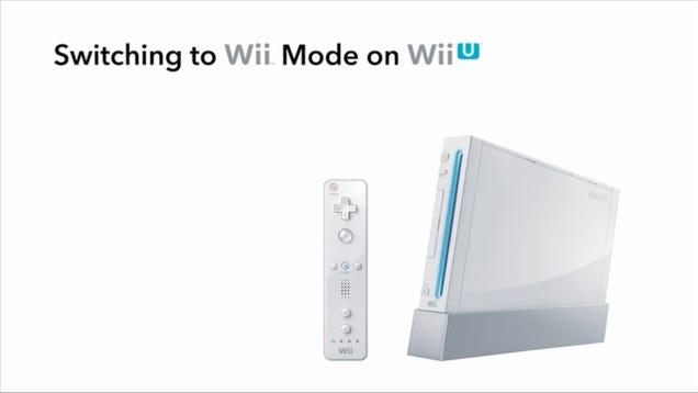 Los juegos de la Wii se podrán al fin descargar en la Wii U