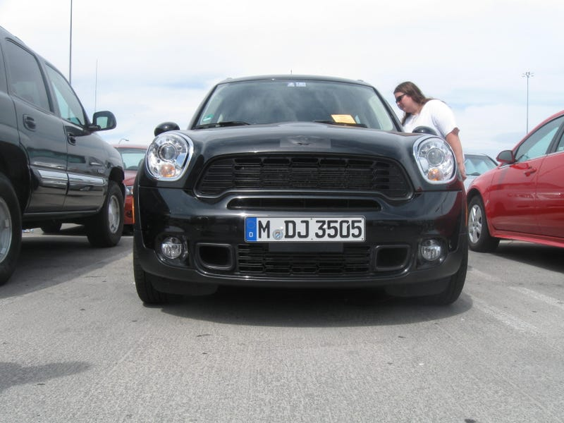 MINI Countryman: Las Vegas Spy Photos
