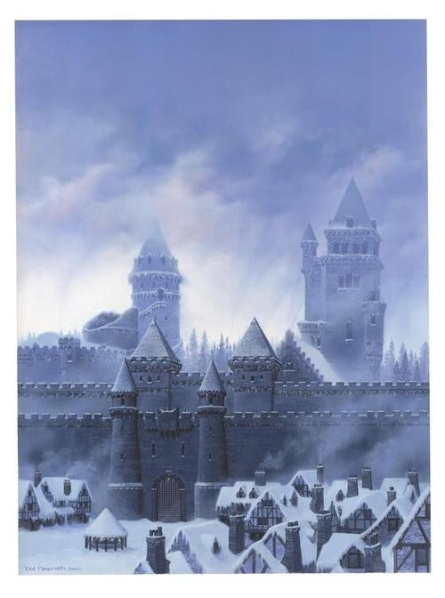 Gorgeous art brings the castles of George R.R. Martin's Westeros to life