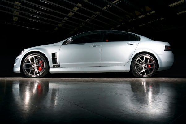 "HSV W427 ""Supercar"" Revealed In Melbourne Gets Z06-Level Power For Increased Hoonage Potential...Mate"