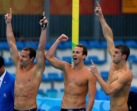 Phelps Achieves Perfection With a Little Help From His Friends