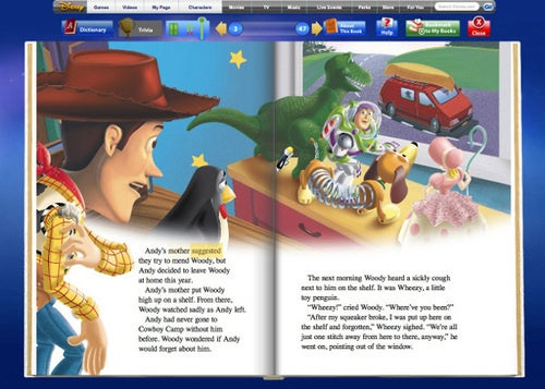 Disney Brings Ebooks To Kids Without A Standalone Reader