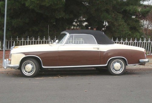 1959 Mercedes-Benz 220S Convertible