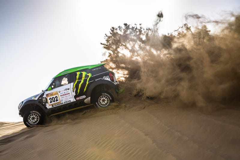 The Abu Dhabi Desert Challenge is a Diet Dakar