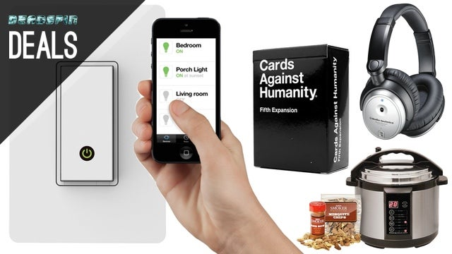 Give Your Home a Brain, Indoor Smoker, Cards Against Humanity [Deals]