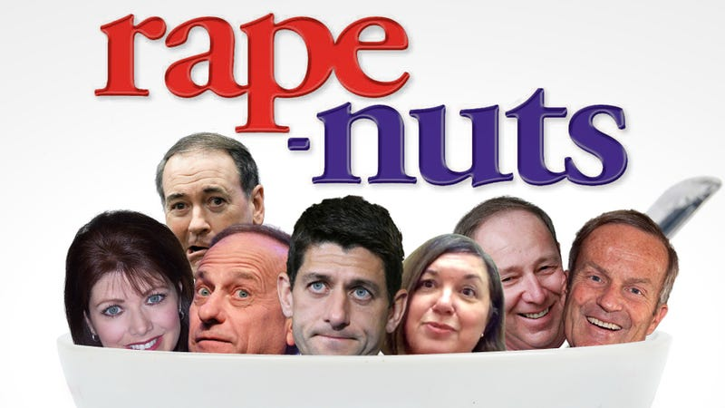 A Recent History of Republicans Talking About Rape