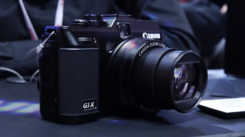 Canon G1 X Hands On: The Sawed-Off Shotgun of Point-and-Shoots