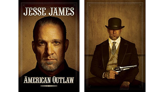 Jesse James' Book Cover Features Aura Of Lawlessness, Phallic Symbol