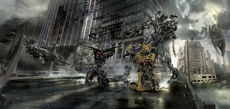 If only Transformers: Dark of the Moon was as good as its concept art