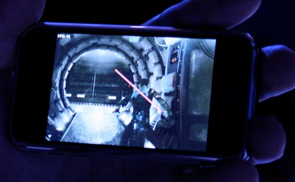 iPhone, Meet Star Wars: The Force Unleashed