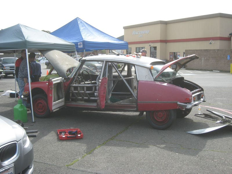 BS Inspection at the 24 Hours of LeMons Sears Pointless