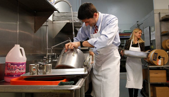'Substantial' Donor Losses for Soup Kitchen in Aftermath of Paul Ryan's Embarrassing Photo Op