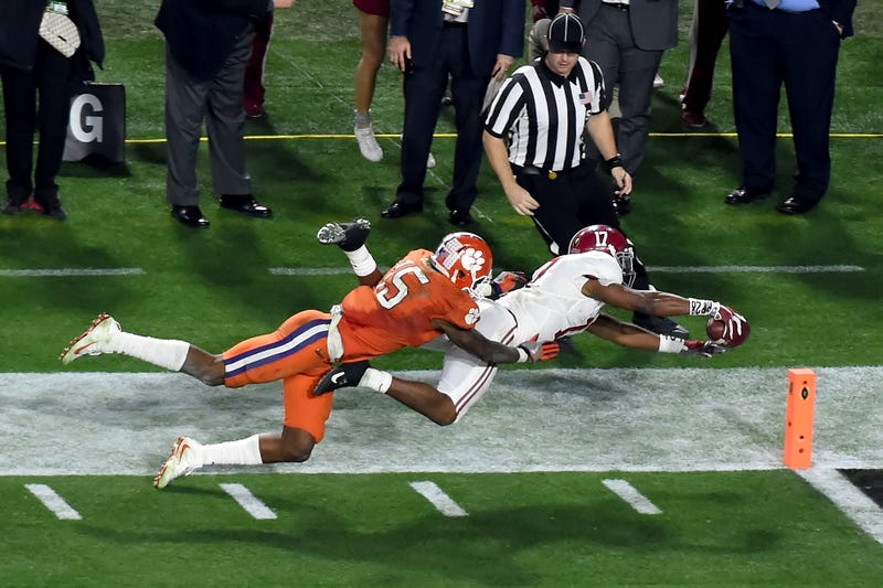 Five biggest plays in Alabama's win over Clemson in national championship game