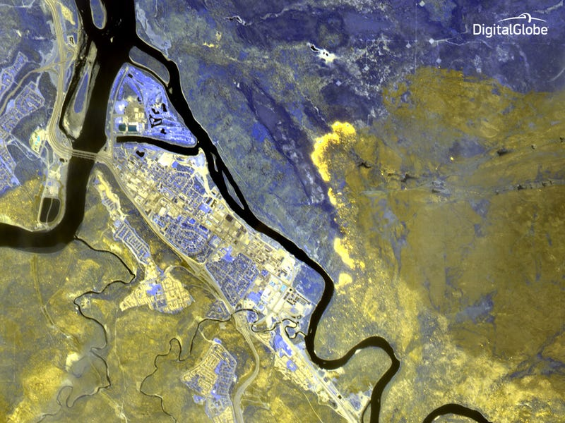 Satellite Images Reveal the Horrific Scope of Alberta's Wildfires