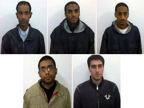American Terror Suspects Sentenced to 10 Years in Pakistani Jail