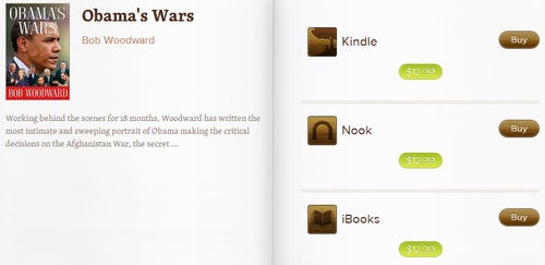 Leatherbound Compares Ebook Prices in Kindle, iBook and Nook Markets
