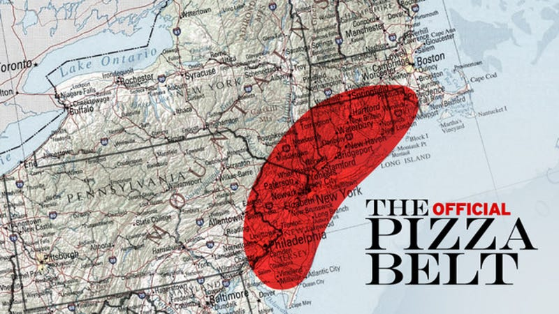 The Pizza Belt: the Most Important Pizza Theory You'll Read