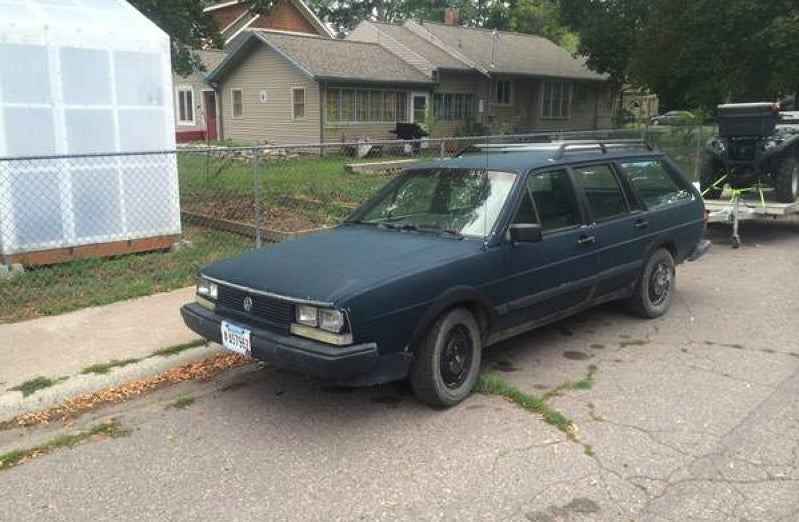 Could This 1985 VW Quantum Syncro Roust $950?