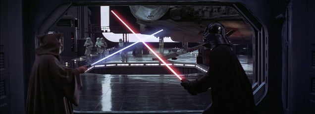 Star Wars' sound effects replaced by mouth noises