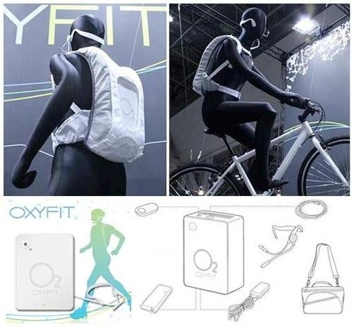 Oxyfit Oxygen-Boosting Backpack