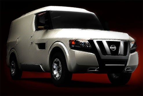 Nissan NV2500 Concept Set For Fuzzy Detroit Debut