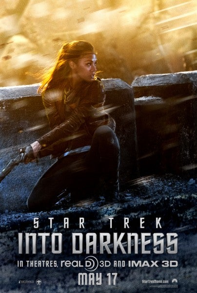 Zoe Saldana Looks Badass as Uhura in the New Star Trek Poster