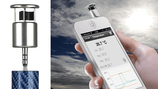 Make Your Own Forecasts With this Tiny Smartphone Weather Station