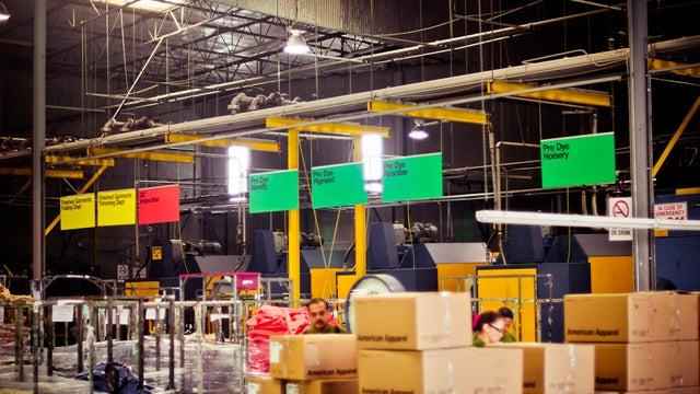 A Peek Inside The American Apparel Headquarters