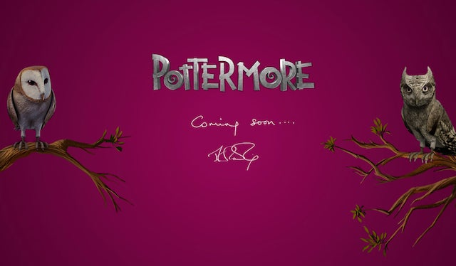 Mysterious Pottermore Website Might Be a Big Online Game