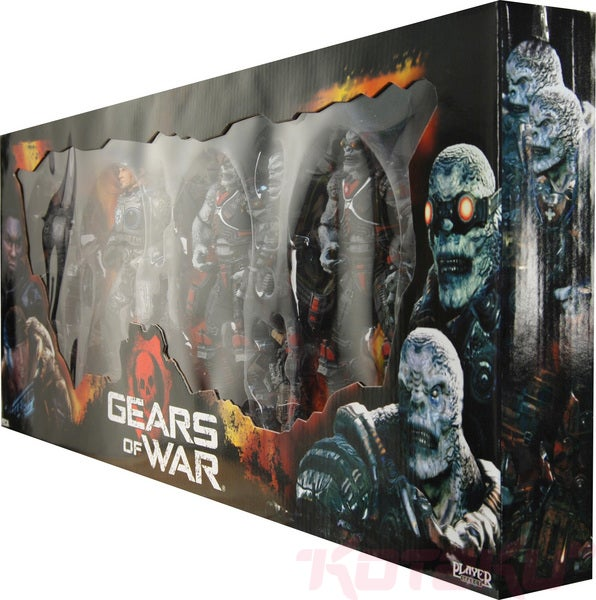 NECA's Gears Of War Box Set