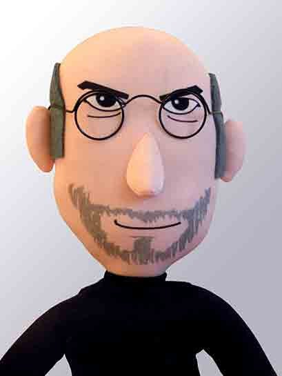 Plush STEVE JOBS! buy 500 and A MIRACLE WILL HAPPEN!!